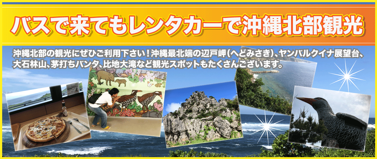 沖縄北部観光-オクマレンタカー