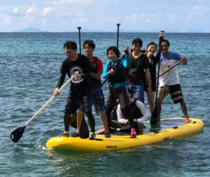 無人島へ行こう! MEGAサップ&シュノーケリング体験
