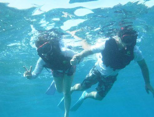 沖縄北部シーカヤック+シュノーケリング体験
