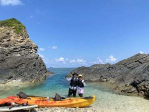 無人島へ行こう!シーカヤック+シュノーケリング